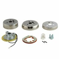 Polished 3 Hole Steering Wheel Hub Adapter For Ford Models