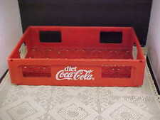 Coca-Cola Red Crate 24 Bottle Can Hard Plastic The Herb Group Ltd Made in Canada