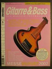 Chitarra & Bass 2002 # 5 IRON MAIDEN Ryan Adams Leslie West Jon Spencer Blues di e