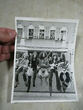 Vintage 1974 Gryphon Music Band The Old Vic National Theatre Company Photo 6x8