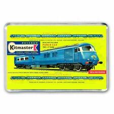 RETRO 60's KITMASTER BLUE PULLMAN POWER CAR KIT BOX ARTWORK JUMBO Fridge Magnet