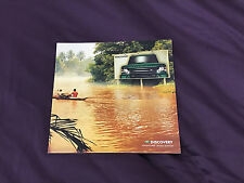 Brochure: Land Rover Discovery Adventurer Special Edition - 2002