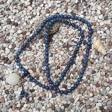 108 Beads Genuine Indonesia Blue Coral Buddism Prayer Beads Rosary Mala 9 MM#B11