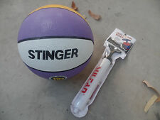STINGER OFFICIAL BASKET BALL BASKETBALL & PUMP