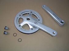 Shimano Alfine fc-s400 conjunto de manivela 170mm plata con incl. manivela tornillos nuevo