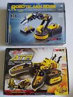 2 LOT - ATR OWIKIT 3 in 1 All Terrain Robot and Robotic Arm Edge