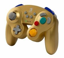 Nintendo Switch Wireless Game Cube Controller Super Smash Bros Ultimate Gold