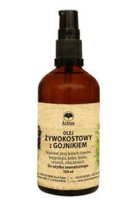 Olej Żywokostowy z gojnikiem na ból 100ml Astron Comfrey oil with sideritis