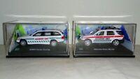2X CARARAMA 1/72 MODELS: MERCEDES-BENZ ML320 + BMW 3 SERIES  ' ACCIDENT UNIT '