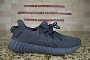 NEW Adidas Yeezy Boost 350 V2 Cinder Reflective FY4176 Size 8.5 Men Black Brown