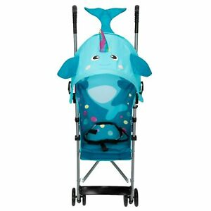 Umbrella Stroller Toddler Narwhal Up To 40 Lbs. with Canopy Lightweight Compact