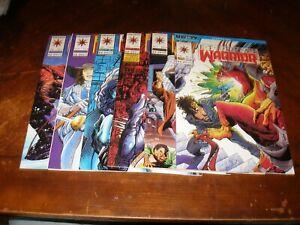 Eternal Warrior 2,3,6,7,8,9 1992/93 near mint Valiant comic lot