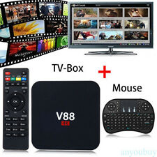 V88 Android 6.0 TV BOX 4K RK3229 Quad Core 8 GB HD 1080P WIFI + Keyboard Entrada