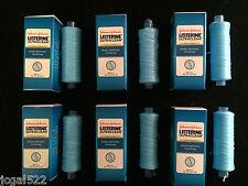6 Listerine Mint Total Care 90 yd floss spool refill by Johnson & Johnson Bulk
