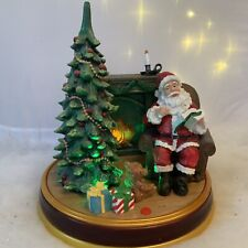 More details for story telling night before christmas light up father animated audio decoration
