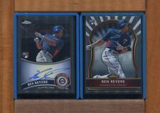 BEN REVERE-2011Topps Chrome Rookie Auto & 2011 Finest RC