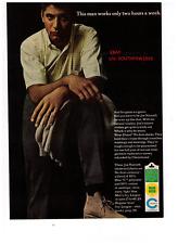 "1966 Joe Namath ""Liberty No-Iron Slacks"" Vintage Print Advertisement"