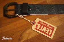 Levi's Vintage Clothing Chrysler Leather Belt Made in Italy