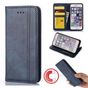Luxury Magnet Leather Flip Case For For Moto G5 G5S G6 G7 Play/G7 Power/G7 Plus