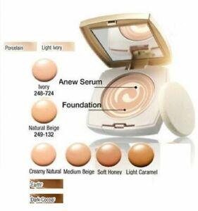 Avon Anew Swirl Compact Foundation - SOFT HONEY - BNIB