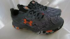 BOY`S UNDER ARMOUR UA GS MAINSHOCK2 ATHLETIC SNEAKERS SIZE 7 Y NEW GREY #3022865