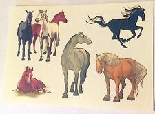 NEW! 24 HORSE TATTOO SHEETS - 5 TATTOOS PER SHEET - PONY PARTY FAVORS ACTIVITIES