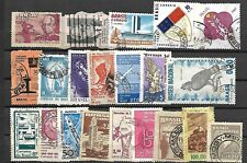BRAZIL LOT / COLLECTION OF 56 STAMPS