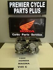 1982 HONDA MAGNA V 45C REMANUFACTURED KEIHIN CARBS CARBURETORS READY TO RUN