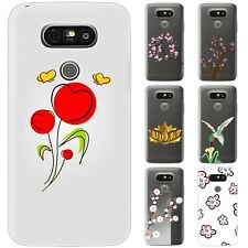Dessana Flowers Graphic TPU Silicone Protective Cover Phone Case Cover For LG