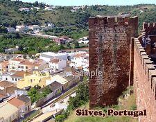 Portugal - SILVES - travel souvenir FLEXIBLE fridge magnet
