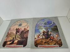 Lot of 2 25th Anniversary AD&D Adventure Modules Giants Borderlands Books & Map