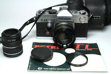 Petri TTL M42 + Petri 55mm F1.8