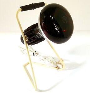 Vintage Philips Infraphil Chaleur Lampe Infrarouge Original Boîte Europlug O444