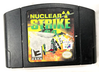 Nuclear Strike 64 Nintendo 64 N64 Game TESTED Working & AUTHENTIC!