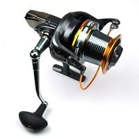 Big Sea Fishing Spinning Reel LJ9000 , 13BB 4.11:1 Metal Spool Surf Casting