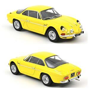 1/18 Norev Alpine A110 1600S 1971 Yellow Neuf Livraison Domicile