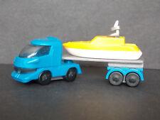 Jouet kinder camion remorque bateau 610449 Allemagne 2002