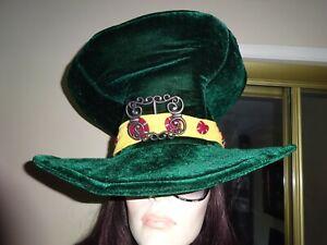 Costume Giant Velvet Hat St. Patricks Day