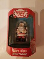 Enesco Santa Claus Santa Claus is Comin to Town Ornament New in Box