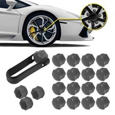 20x Grey Wheel Lug Bolt Center Nut Cover Cap 321601173A for Audi VW Jetta Golf