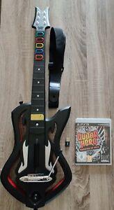 Guitar Hero Warriors of Rock PS3 (VF) + Guitare et récepteur