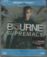 BLU RAY:THE BOURNE SUPREMACY EDIXIONE STEELBOOK ( METAL BOX) NUOVO  SIGILLATO