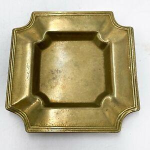 Vintage Art Deco Styled Brass Ashtray <D11