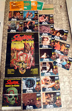 SQUIRM * 20 Lobby Cards + German 1 Sheet + Small Poster + Campaign etc. LOT ´76