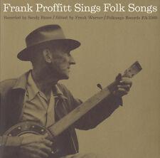 Frank Proffitt - Frank Proffitt Sings Folk Songs [New CD]
