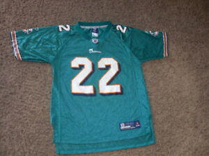 MIAMI DOLPHINS Reggie Bush Football Jersey youth Large