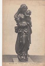 CLUNY musée 136 bois la vierge noire