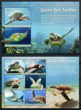 2018 Saint Vincent, turtles, S/sheet + sheet, MNH