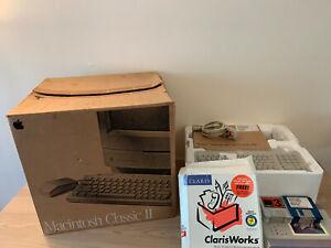  Apple Macintosh Mac Classic II - Boxed - Complete - Refurbished - Rare Vintage
