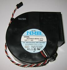 """Powerful NMB Blower Fan Used In Dell - 12 V - 97 x 94 mm - 3700 RPM - 1.4"""" H2O"""
